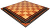 "Red Amboyna  & Bird's-Eye Maple Custom Made Solid Wood Chess Board - 2.5"" Squares"