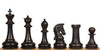 "Sultan Staunton Chess Set with Ebony & Boxwood Pieces - 4.5"" King"