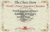"British Staunton Chess Set in Rosewood & Boxwood - 3.5"" King"