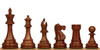 """British Staunton Chess Set Golden Rosewood 3.5"""" King"""