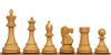 "British Staunton Chess Set Boxwood Pieces 4"" King"