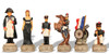 Battle of Waterloo Theme Chess Set French Pieces