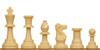 Standard Club Plastic Chess Set Camel Pieces