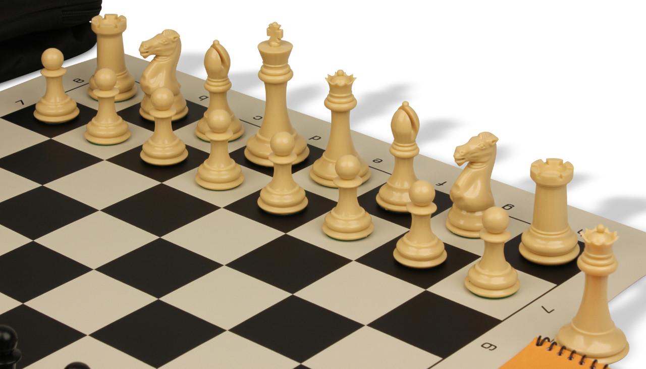 Deluxe Chess Bag Zabawki Szachy Black