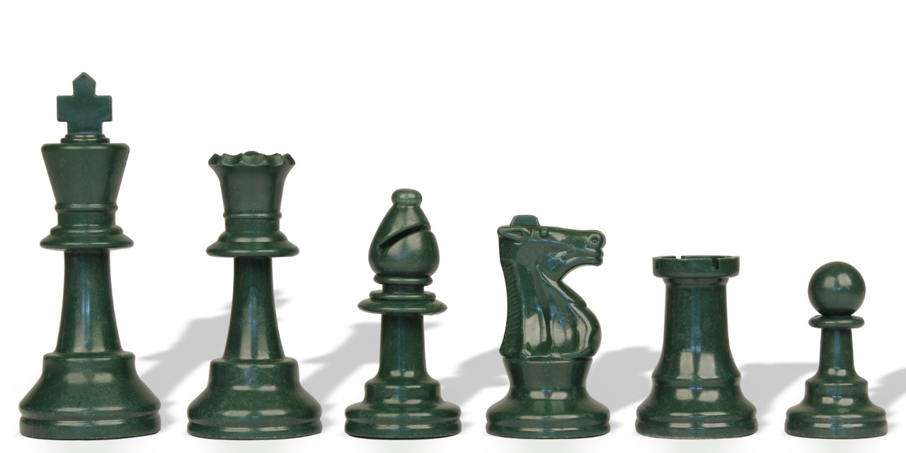 "Chess Board Black//White 17,3/"" Transparent Chess Set Special Chessmen 3,75/"""