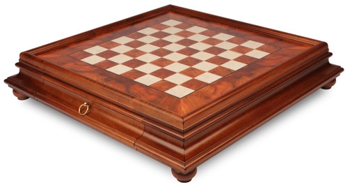 Elm Burl Chess Case by Italfama