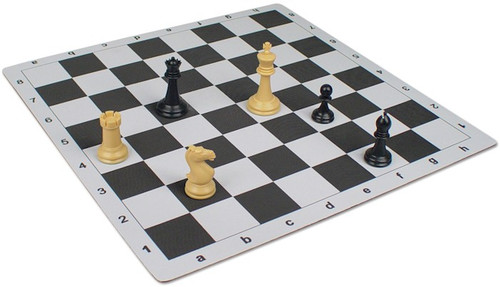 Floppy Chess Board Black