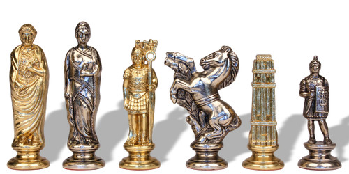 Italfama Caesar Metal Chess Set