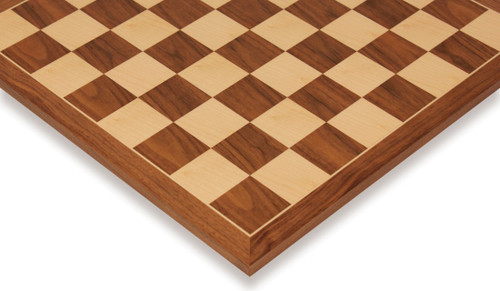 "Walnut & Maple Classic Chess Board - 2.125"" Squares"