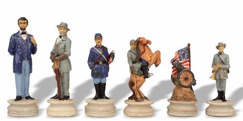 Civil War Theme Chess Set