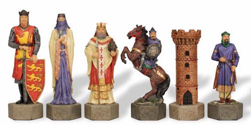"Crusades III Theme Chess Set - 7"" King"