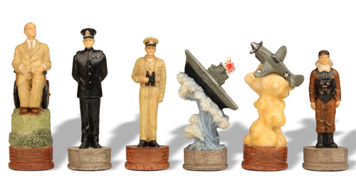 Pearl Harbor Theme Chess Set