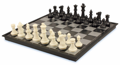 """Chess & Checkers Folding Magnetic Travel Set - 14"""""""