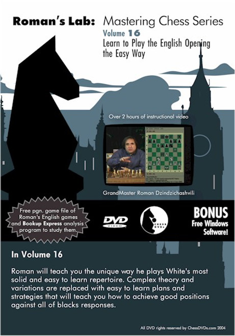 Roman's Lab: Learn to Play the English Opening the Easy Way