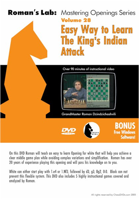 Roman's Lab: Easy Way to Learn The King's Indian Attack