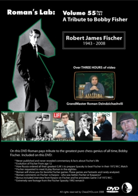 Roman's Lab: A Tribute to Bobby Fischer