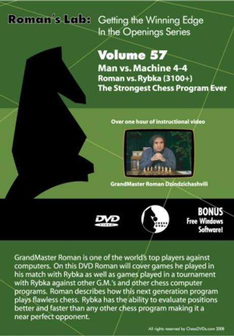 Roman's Lab: Man vs Machine 4-4 Roman vs Rybka(+3100) The Strongest Chess Program Ever