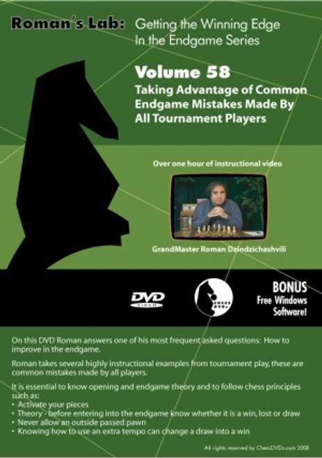 Roman's Lab: Taking Advantage of Common Endgame Mistakes Made by All Tournament Players