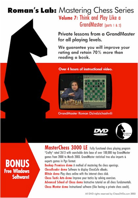 Roman's Lab: Think and Play Like a GrandMaster