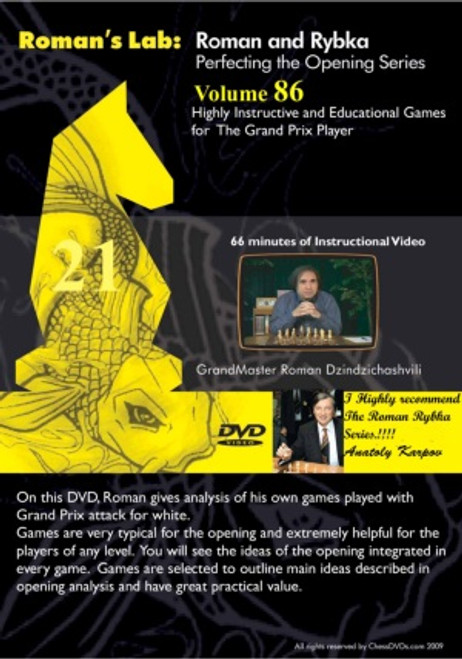 Roman's Lab: Highly Instructive and Educational Games for The Grand Prix Player