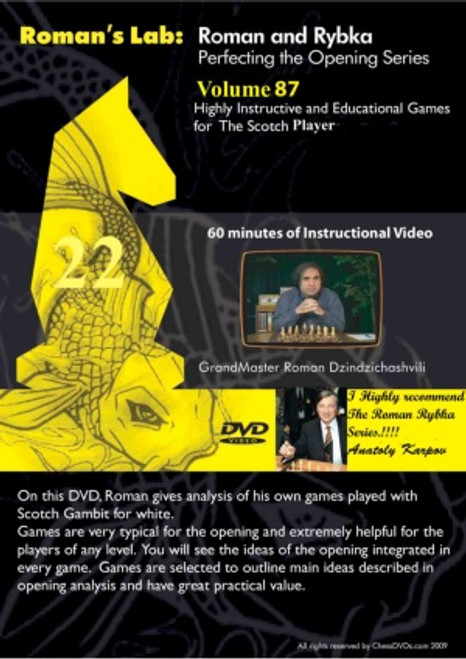 Roman's Lab: Highly Instructive and Educational Games for The Scotch Player