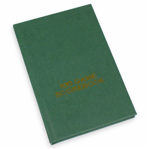 Hardcover Score Book - Green