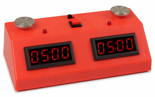 ZMF-II Chess Clock - Red with Red LED
