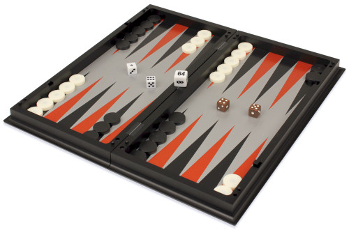 Backgammon, Chess, & Checkers Folding Magnetic Travel Set - 12.5""