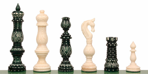 Jagganoth Decorative Bone Chess Set
