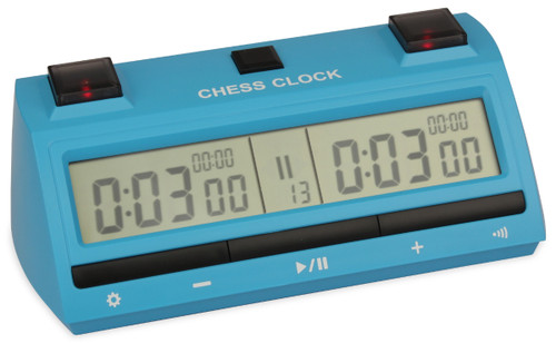 DT25 Digital Chess Clock - Blue