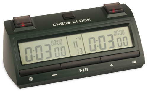 DT25 Digital Chess Clock - Forest Green