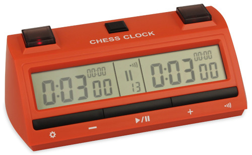 DT25 Digital Chess Clock - Red