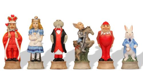 Alice in Wonderland Theme Chess Set