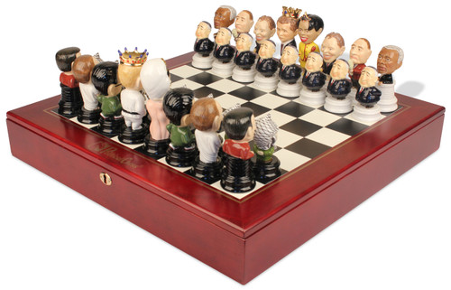 The Political Chess Set