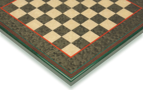 """Green & Erable Framed Chess Board - 2"""" Squares"""