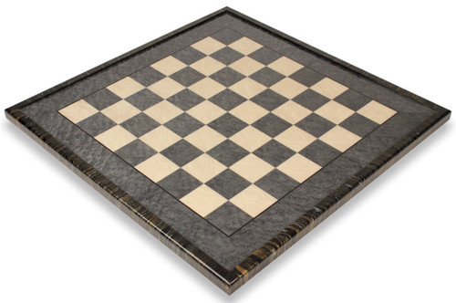 """Gray & Erable Chess Board with Variegated Frame - 2.375"""""""