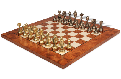 Solid Metal Chess Sets