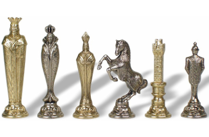 Renaissance Period Themed Chess Pieces
