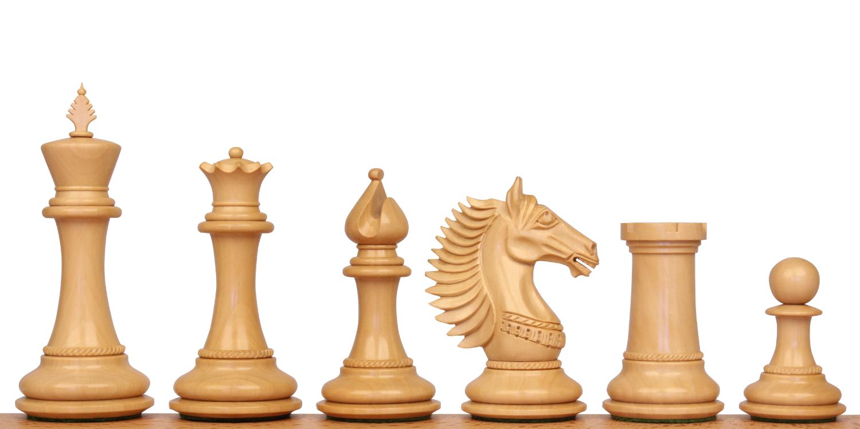 Copenhagen Staunton Wood Chess Pieces