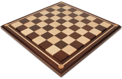 Mission Craft Solid Walnut  & Maple Chess Boards