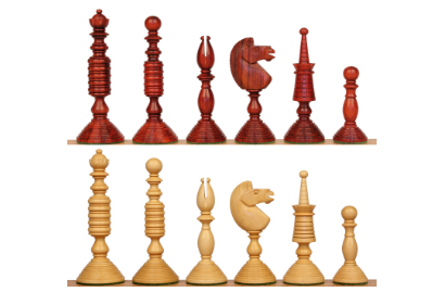 Antique Reproduction Chess Pieces