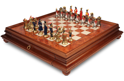 Theme Chess Sets with Cases