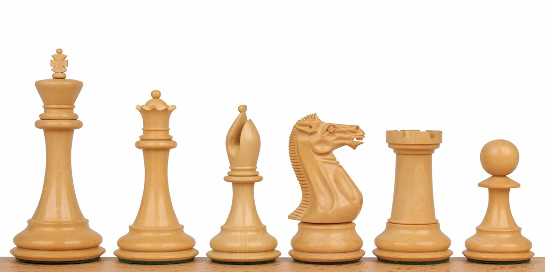 New Exclusive Staunton Wood Chess Pieces