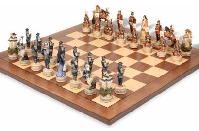 Samurai Theme Chess Sets