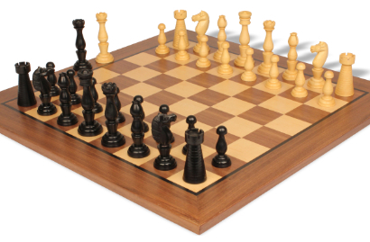 Antique Reproduction Wood Chess Sets