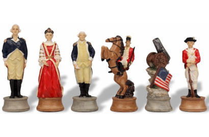 Battles & Wars Themed Chess Pieces