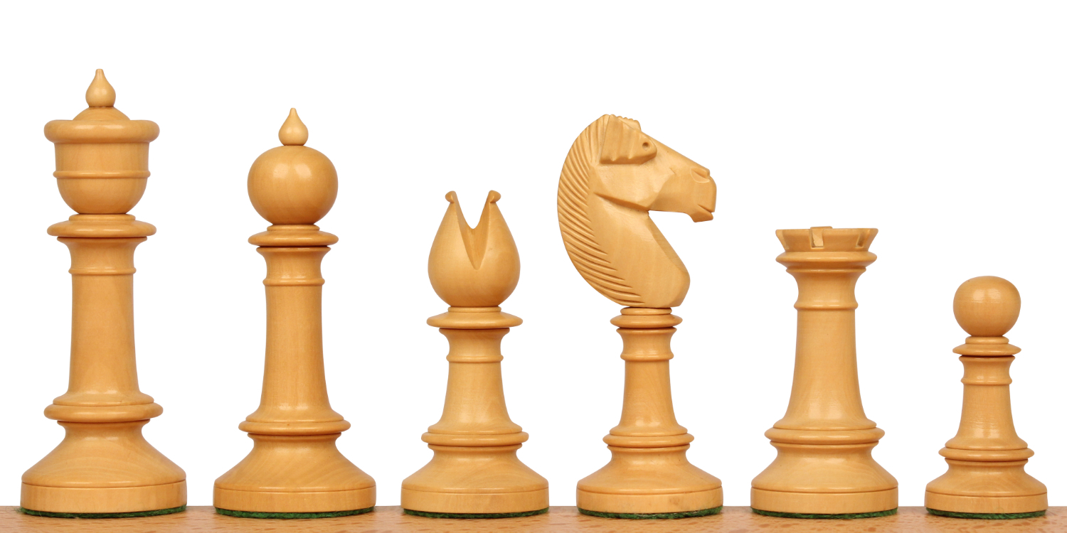 Northern Upright Antique Reproduction Chess Pieces