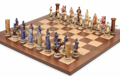 Crusades Theme Chess Sets