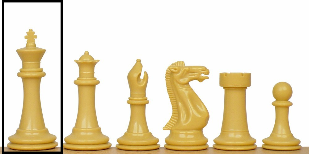 Replacement Pieces Executive Plastic Chess Set