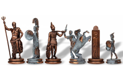 Greek Theme Chess Pieces